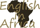 Logo Design for Study English in Africa