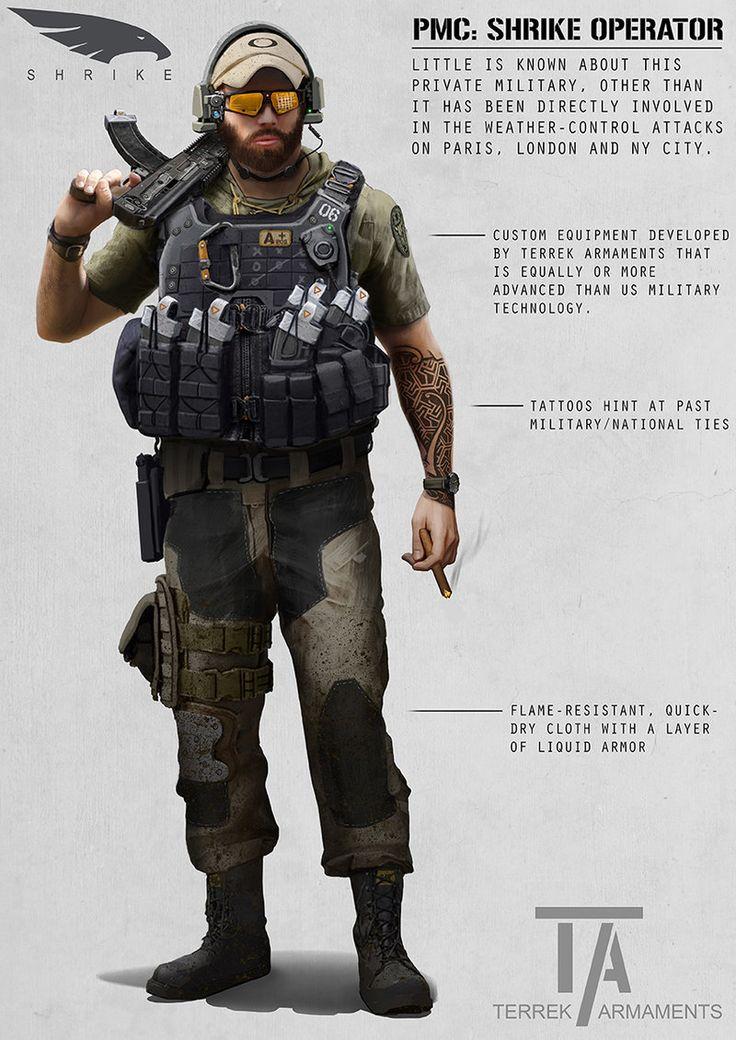 PMC: Shrike Operator by ~AlexJJessup on deviantART