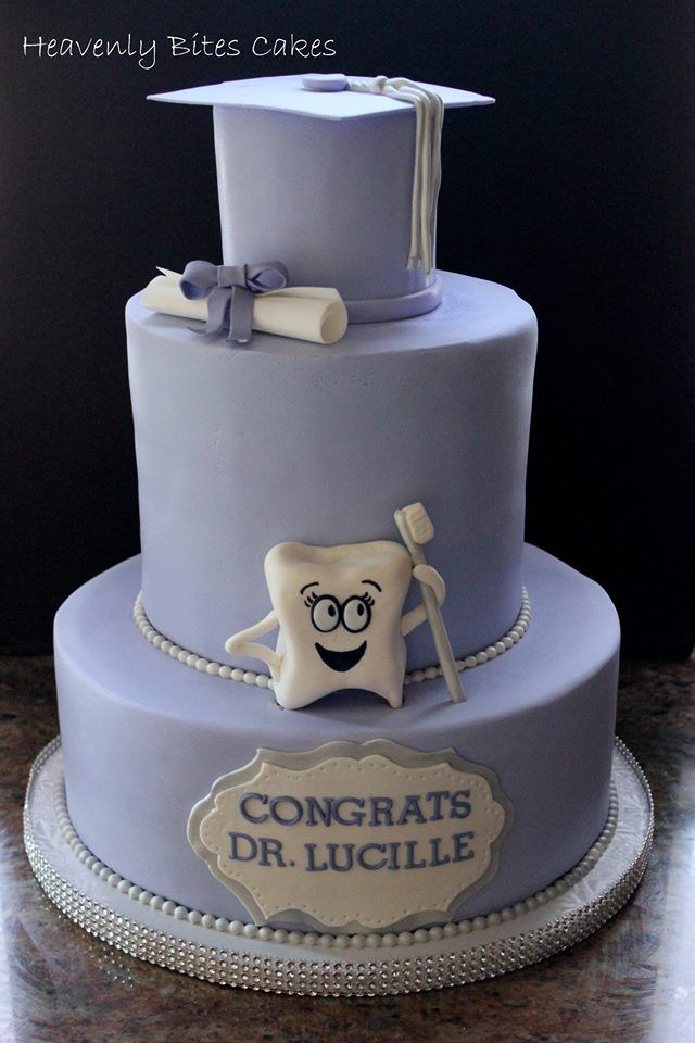 Dental School Graduation Cake