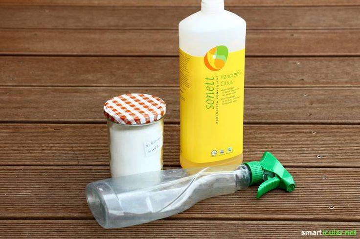 Duschkabinen-Spray ökologisch und preiswert selber machen