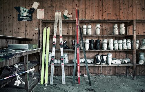 waiting for the ski season | Flickr - Photo Sharing!