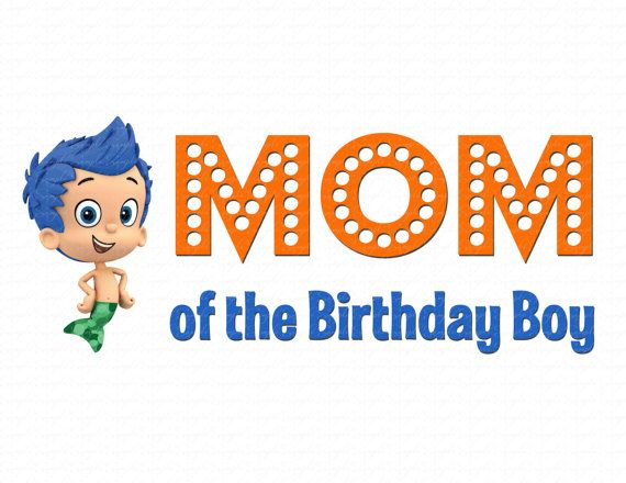 98 best Bubble Guppies Birthday images on Pinterest | Birthdays ...
