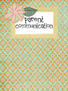 TO DO: Oh' Boy 4th Grade: Communication cover, get to know you form, and parent communication log...free downloadables.