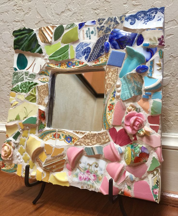 Mosaic mirror More