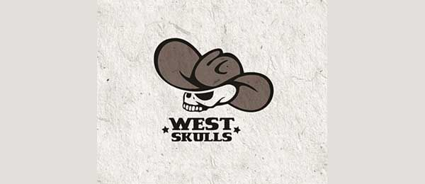 West Skulls logo