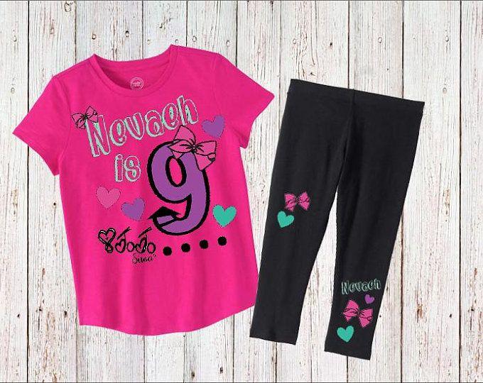 Jojo Siwa Birthday Outfit Shirt