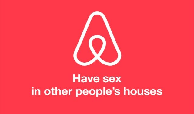 Dinner Party From Hell: Airbnb Founder Defends New Logo, Amid Genitalia Jokes
