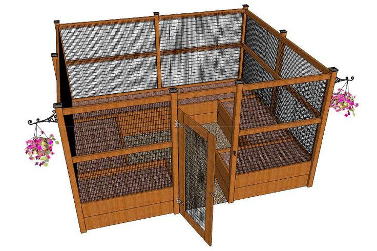 Building Plan Raised Bed Garden | My new, critter proof, raised garden