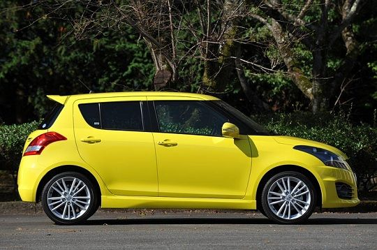 2014 Suzuki Swift Yellow