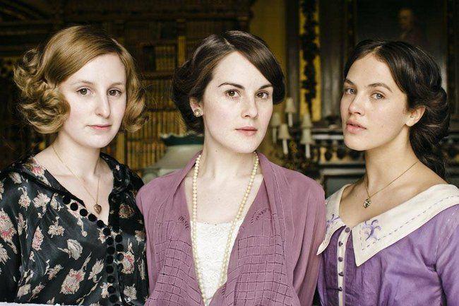 Be.You.tiful: Inspiração de Maquiagem - As Irmãs de Down Town Abbey