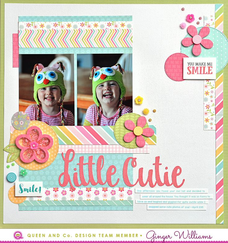 Scrapbook Layouts, Cards, and other Crafts