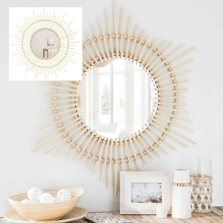 Get the look and it will be all #white with the Living & Co #Suri #Bamboo #Natural #Mirror from @thewarehousenz just $20! #boho #bohemian #bohochic #interiors #styling #wall #decor #design #love #style #luxeforless #photo by #maisons du monde #bargain #styling #wood #interiordesign #house #natural #pretty #me #texture #nature #NewZealand #picoftheday