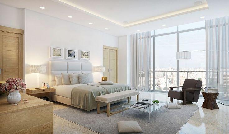 Büyük yatak odası tasarımı yapmak oldukça kolaydır. Bütün eşyaları istediğiniz gibi alabilir ve döşeyebilirsiniz. Yatak odalarına koyacağınız bir tekli koltuk ya da berjer dinlenmeni