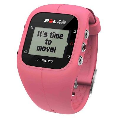 Polar Fitness and Activity Monitor with Heart Rate - Pink (Polar A300 )