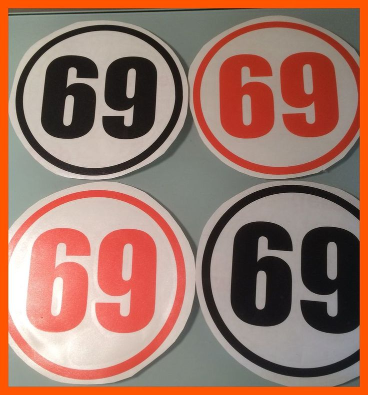 vespa lambretta scooter Decals numbers various colours Sticker Decals 10cms x2  | eBay