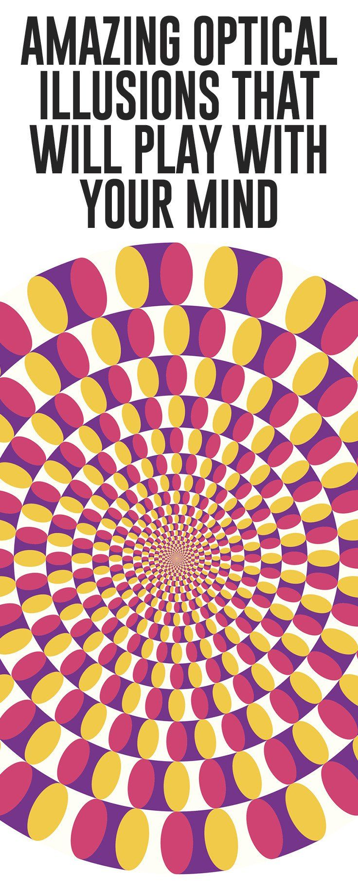 Is it moving? Or is it not? Have a look at the optical illusions that will leave your mind confused.
