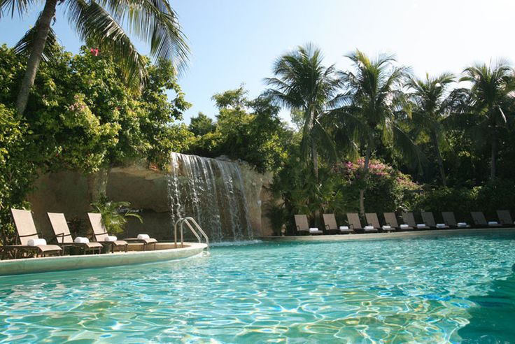 I love this pool. That little waterfall feels good pounding down your back. Hilton Key Largo Resort- Florida Keys Resorts, Reservations
