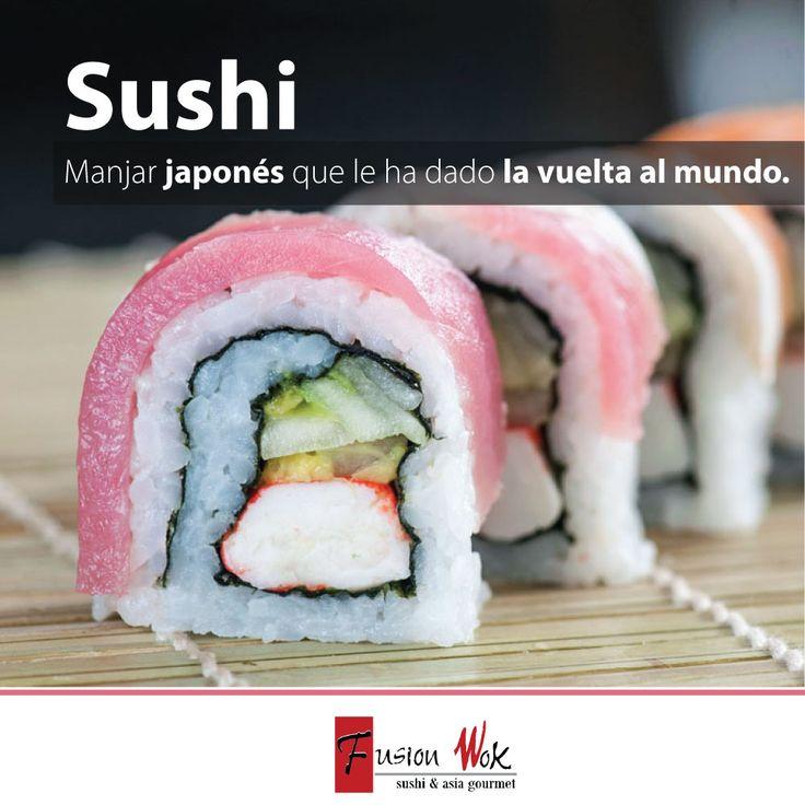 ¡Exquisito y saludable! #sushi #fusionwok