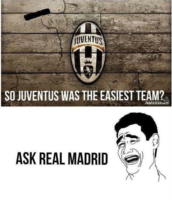 Sądzicie, że Juventus Turyn był najłatwiejszym rywalem? Zapytajcie Real Madryt • Zabawne memy po półfinale Ligi Mistrzów • Zobacz >>