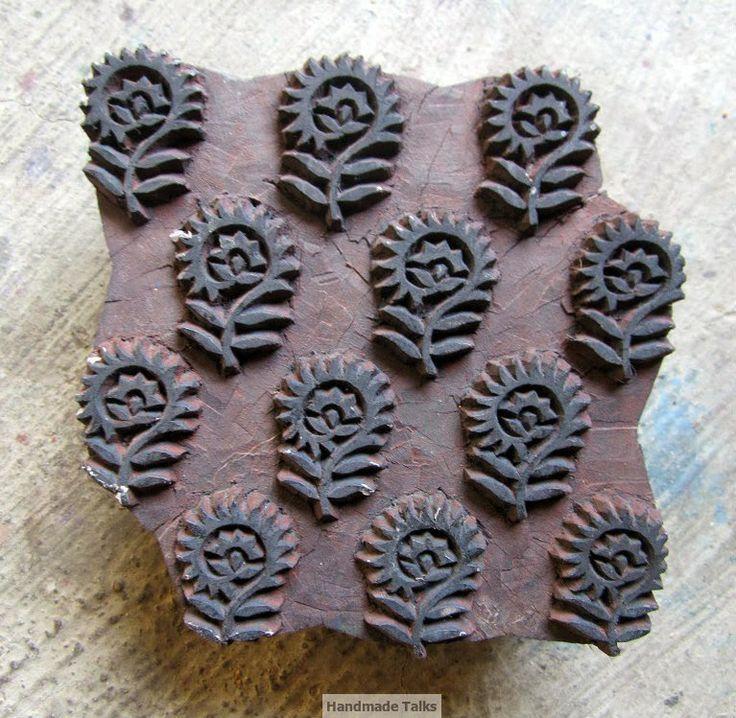 Wooden block printing - an ancient Indian art