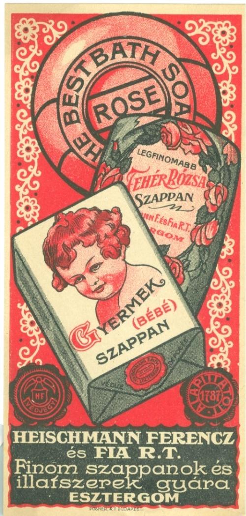 Heischmann Ferencz és fia R.T. - Szappanok és illatszerek, Esztergom