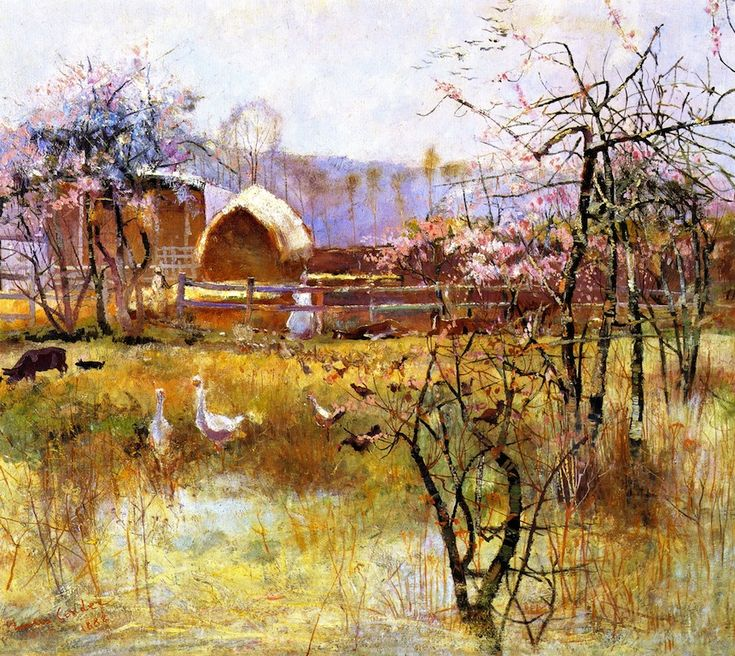 The Farm, Richmond, New South Wales,1888 - Charles Conder