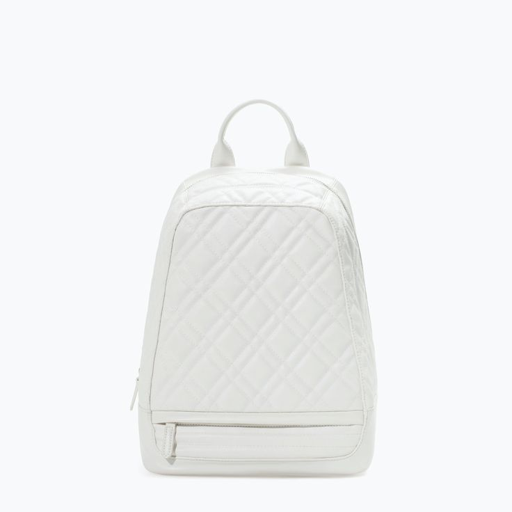 8 best Handbags images on Pinterest | Bag, Bags and Calf leather : quilted rucksack zara - Adamdwight.com