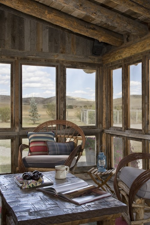 for the screened in porch