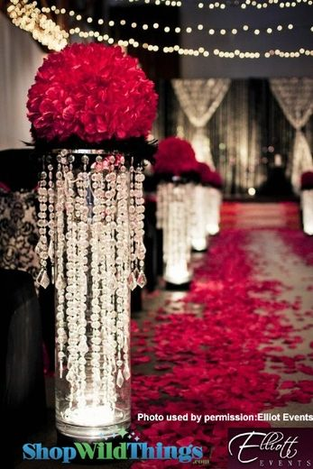 34 best chandelier centerpieces images on pinterest centerpieces how to use a chandelier as a centerpiece chandelier on a table for wedding display aloadofball Choice Image