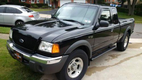 2002 Ford Ranger XLT Extended Cab 4X4 Pickup 4.0L V6 5 Speed Manual INSPECTED, US $7,495.00, image 1
