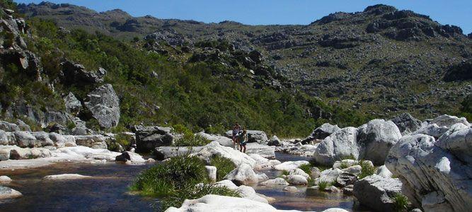 Rock-hopping in Bainskloof - South Africa Travel News
