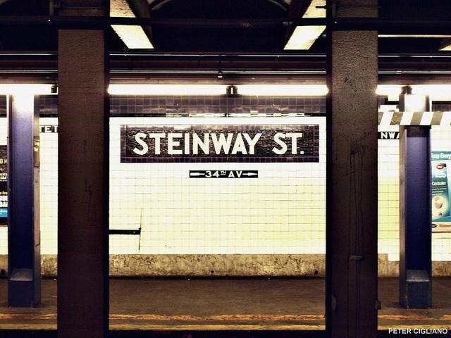 Steinway Street Subway Station, Astoria New York (aka, home)