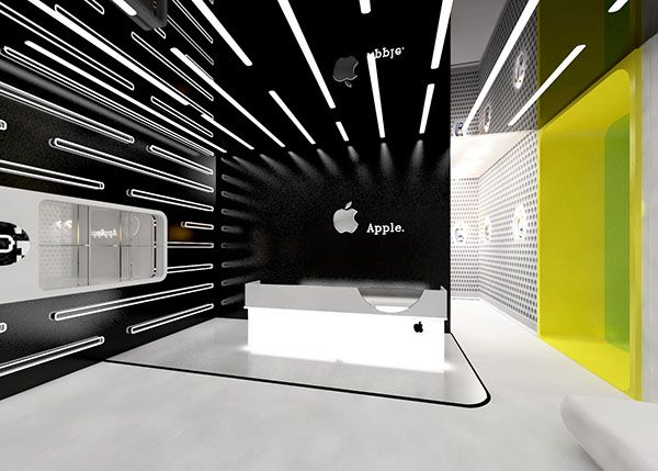 Apple Officeconceptual Designspace 天井装飾 天井 内装