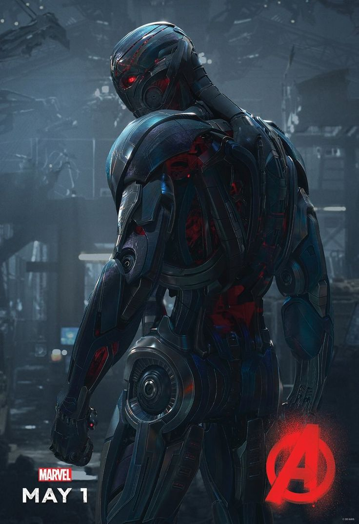 Ultron Turns His Back on Humanity in His AVENGERS: AGE OF ULTRON Character Poster — GeekTyrant