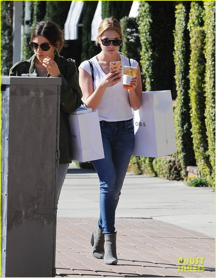 Ashley Benson Has Taylor Swift's Phone Number: Photo #926435. Ashley Benson checks her phone while grabbing an iced tea and shopping with a pal on Tuesday afternoon (February 9) in Los Angeles.    The 26-year-old Pretty Little…
