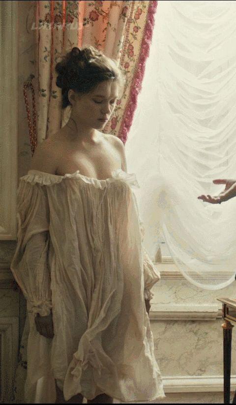 """Léa Seydoux in """"Farewell, My Queen (2012)"""""""