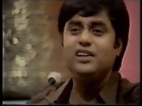 Kal Chaudhvin Ki Raat Thi Shab Bhar Raha | Jagjit Singh - YouTube