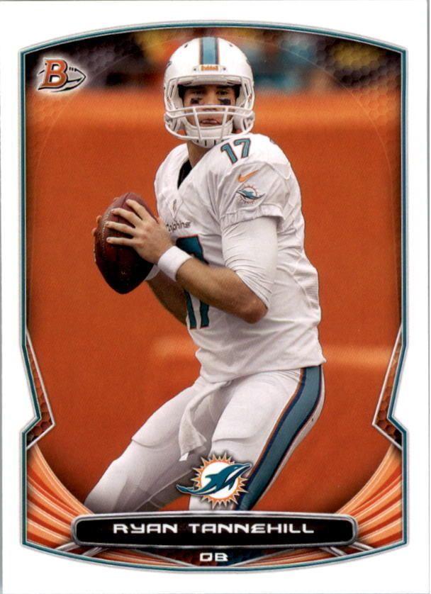 2014 Bowman #24 Ryan Tannehill Miami Dolphins NFL Football Card #Bowman #MiamiDolphins