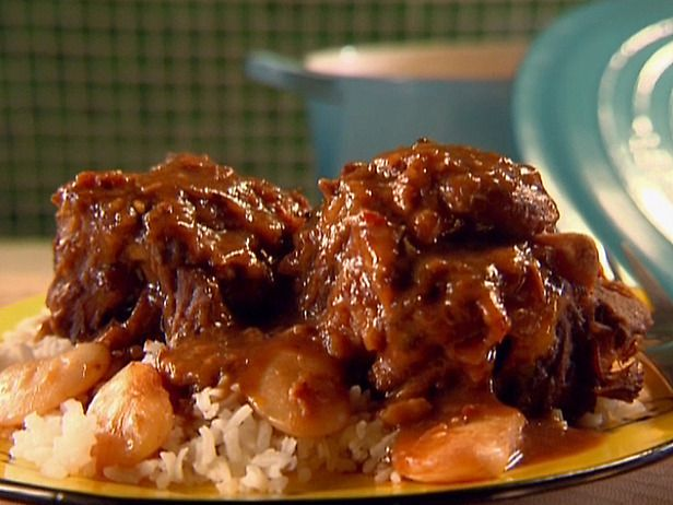 Oxtails!! Yummy..Oxtail Recipes, Food Network, Oxtailstew, Beef, Oxtail Stew, Stew Recipes, Sunny Anderson, Cooking Channel, Comforters Food