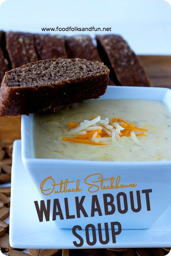 Outback Steakhouse Walkabout Soup Copycat Recipe