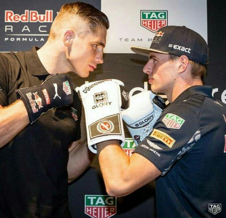 Max Verstappen en Rico Verhoeven Launch Tag Heuer Special Edition Watches 30-08-2016.