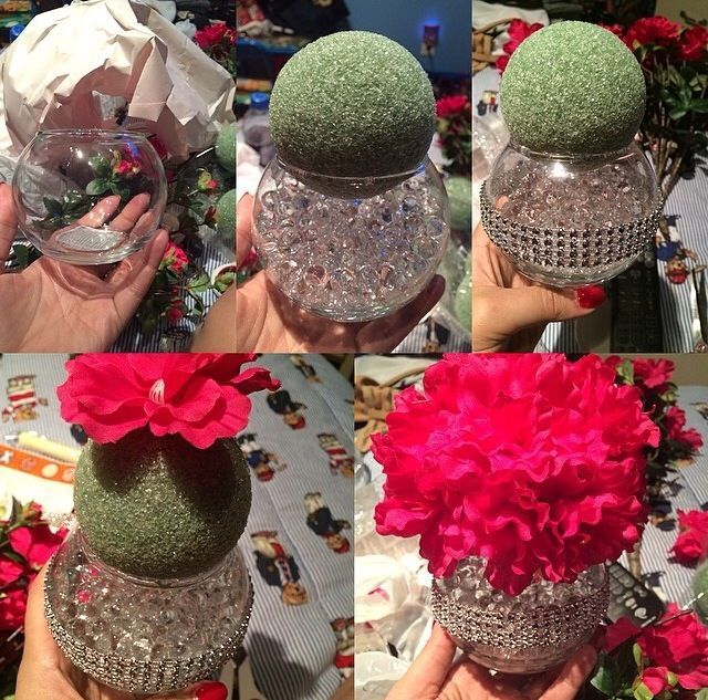 17 best ideas about bling wedding centerpieces on pinterest winter table centerpieces white. Black Bedroom Furniture Sets. Home Design Ideas