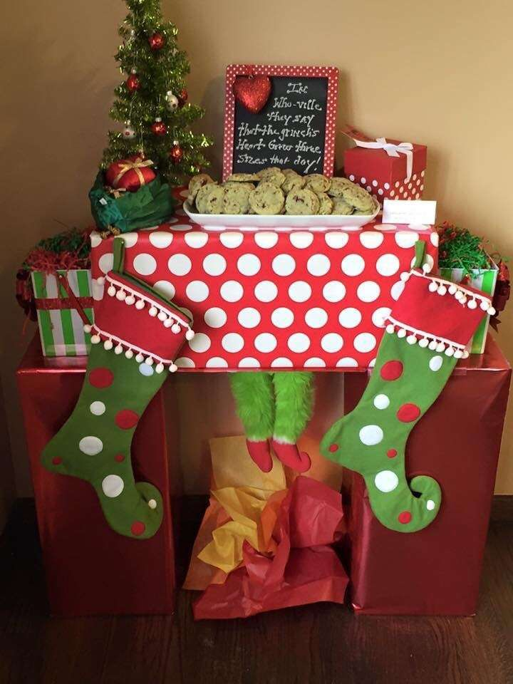 Grinchmas Cookie Exchange Christmas/Holiday Party Ideas   Photo 23 of 28