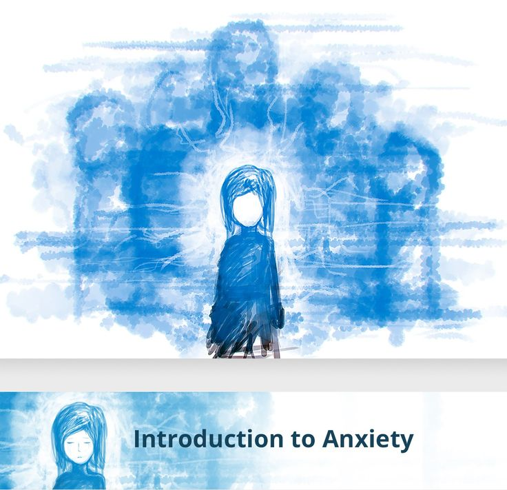 Concept Illustration of Anxiety | 99designs