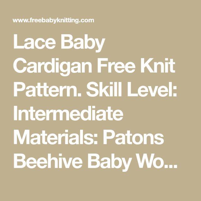 Mejores 23 imágenes de Free knitting patterns en Pinterest   Tejidos ...