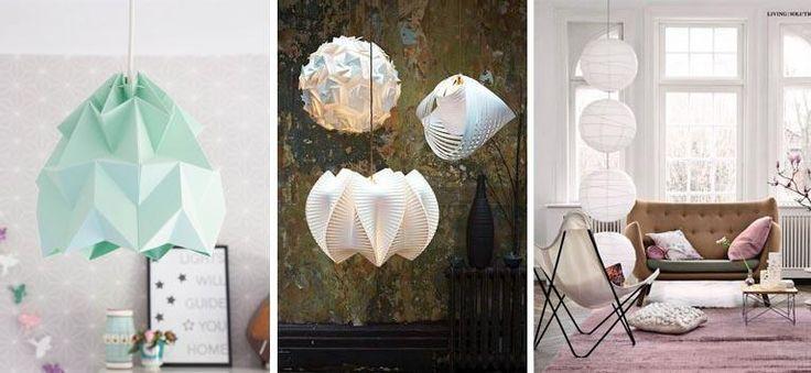 Pinspiration: 13x prachtige papieren lampen