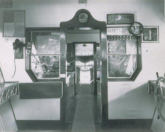 USS Macon interior.