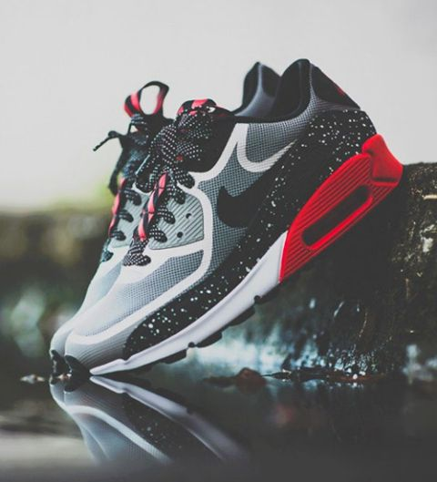 b8de466b018d Pumped to get these special edition Nike Air Max CMFT PRM Tape Black Metallic  Silver