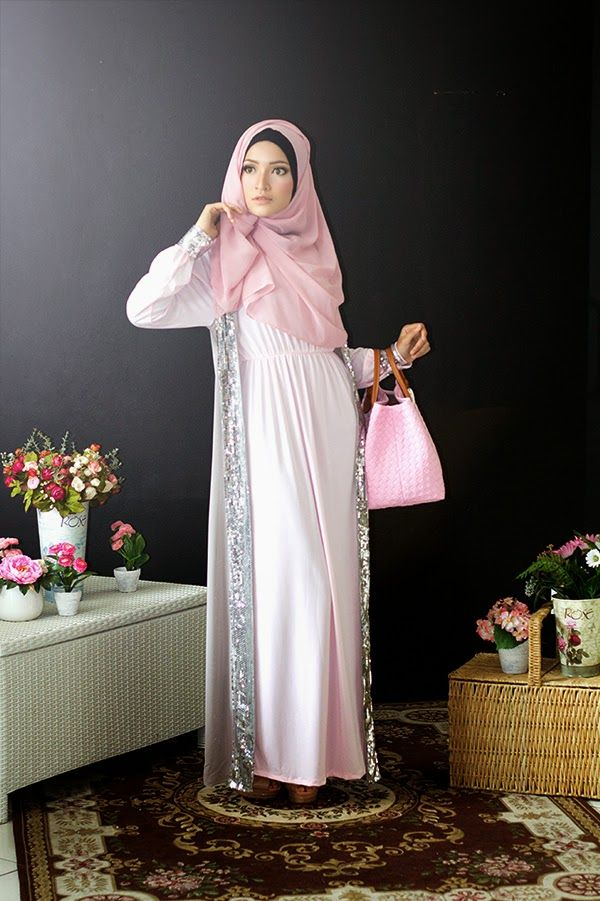 Chloe Raya Dress - Baby Pink (IDR 425,000). #SimplyMii #RayaSeries2014 More info on http://lovesimplymii.blogspot.com