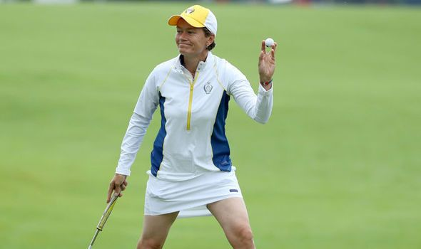 Solheim Cup 2017: Catriona Matthew inspires Europe to strong start in the foursomes